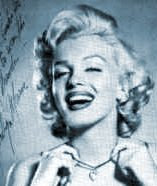 Marilyn Monroe met die Moon of Baroda