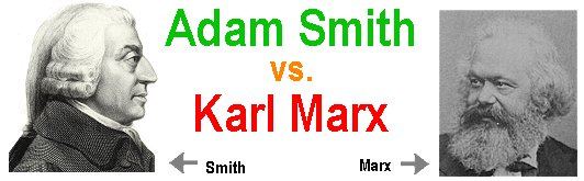 comparing marx and smith Free essay: smith versus marx a comparison s glen balanoff july 04, 2004 smith versus marx a comparison modern economic society can be described as a.